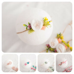 Newborn-Baby-Faux-Pearl-Flower-Headband-Hair-Band-Strap-Headwear-Photo-Prop-Well