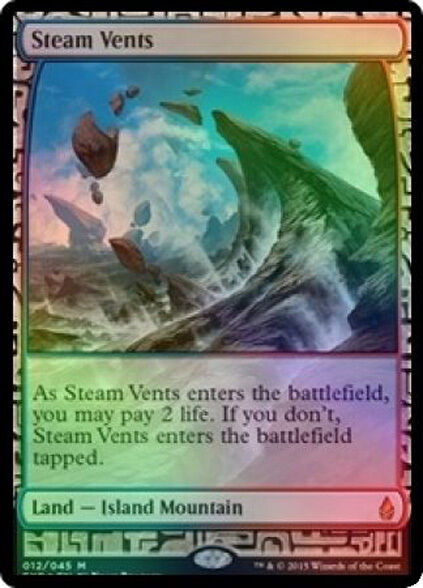 Mtg folie dampf schlote (voller kunst) bfz in hand - fumar di vapore - expedition