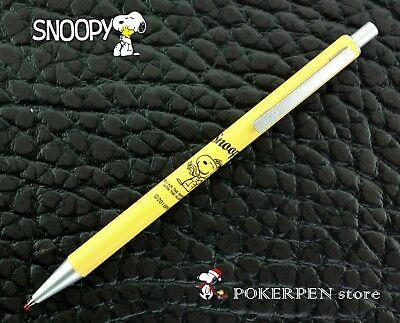 free ship Peanuts SNOOPY rollerball pen YELLOW barrel Black ink H1503
