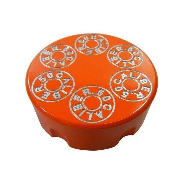 BILLETTE D'aluminium Orange Poudre manteau GAS TANK CAP Arctic Cat Chat Sauvage 1000 2015