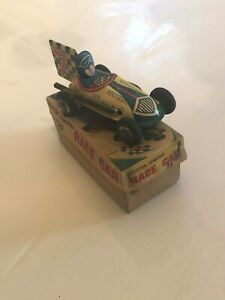 Antique-Metal-Toy-Racecar-With-Box