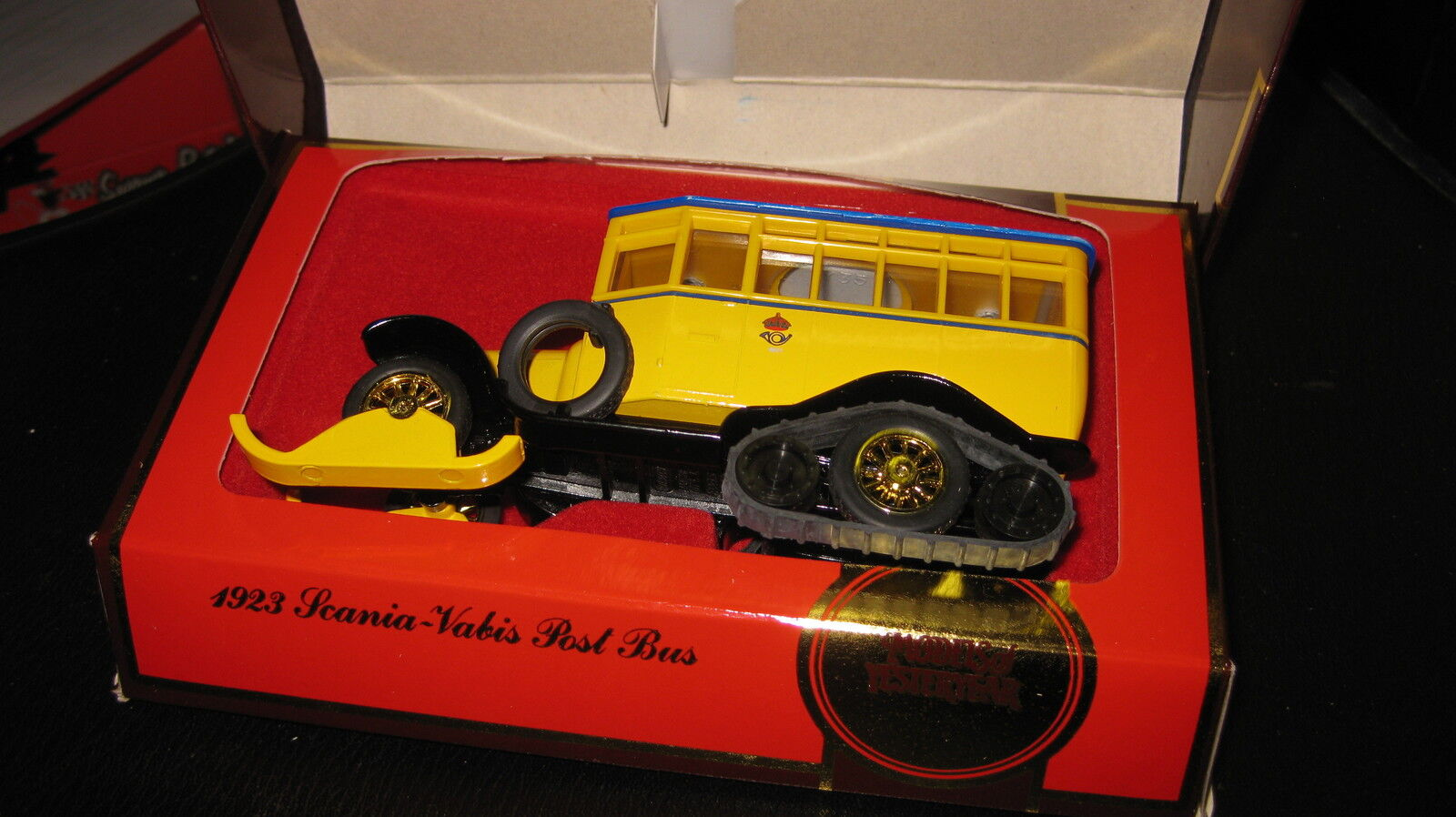 MATCHBOX YESTERYEAR Y-16 SCANIA VABIS POST BUS BUS BUS AWESOME LOOKING MODEL 0d1dfb