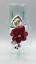 Vintage-Clear-Glass-Silver-Tone-Metal-Calla-Lily-Flower-Rhinestone-Bud-Vase thumbnail 1