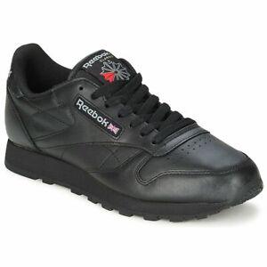 Sneakers Scarpe donna Reebok Classic  CL LTHR  Nero Cuoio Reebok Classic 3912