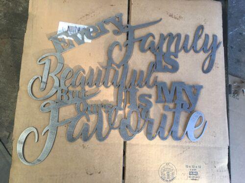Metal Wall Art Decor Every Family Is Beautiful