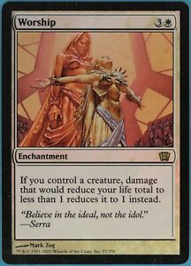 Ivory Mask FOIL 8th Edition PLD White Rare MAGIC THE GATHERING CARD ABUGames
