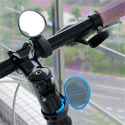 Bike Mirror Mountain Bicycle Rearview Handlebar End Rear Back View 360°Rotation