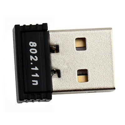 150Mbps 150M Mini USB WiFi Wireless Adapter Network LAN Card 802.11n/g/b Y@