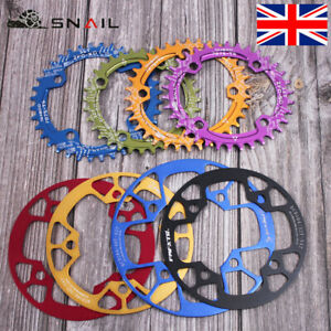 32-42T-104BCD-Aluminum-alloy-Round-Oval-MTB-Road-Bike-Chainset-Chainring-Bolts