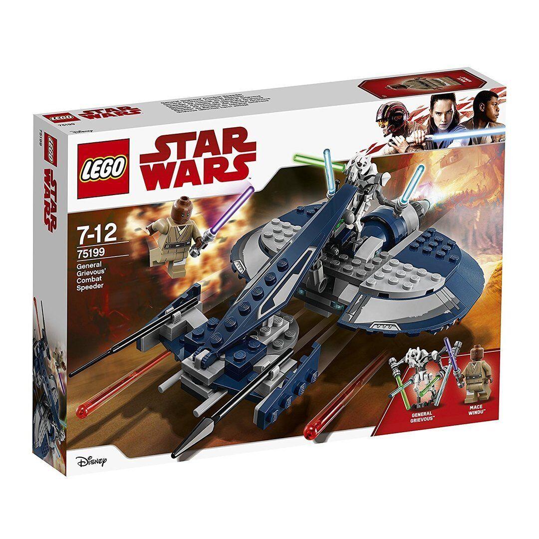 Lego 75199 Star Wars: Speeder del General Grievous - NUEVO