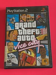 🔥 SONY PS2 PlayStation Two 💯 WORKNG GAME🔥 GTA GRAND THEFT AUTO VICE CITY🔥