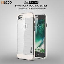 Slicoo ORIGINALE APPLE IPHONE 7 – bianco-Guscio per Cellulare Involucro Protettivo in TPU con