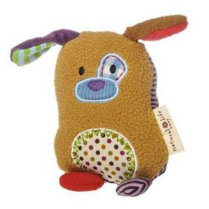 "You Are Loved Puppy Rattle - 5"" by Mary Meyer and Natural Life"