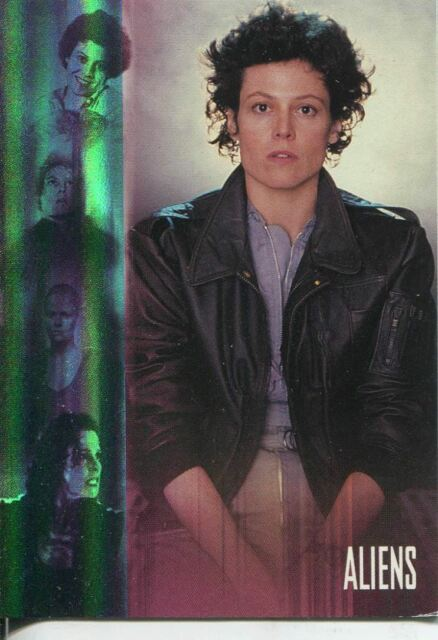"""4 Card /""""The Evolution Of Ripley/"""" Chase Set C2-1 1998 C2-4 Alien Legacy"""
