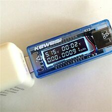 New 3V-9V 0-3A USB Charger Power Battery Capacity Tester Voltage Current Meter