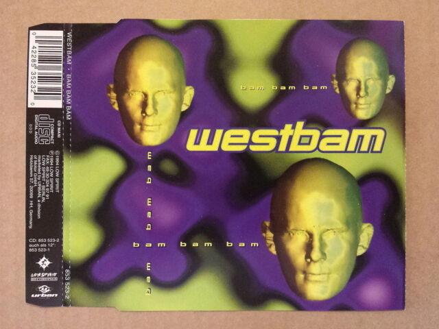 CD # mcd # WestBam # Bam, Bam, Bam # 1994 # vg+/m-