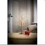 70cm-Pre-Illuminate-GIOIELLO-GLITTER-Ramoscello-Albero-Argento-e-Oro-Decorazioni-Natalizie miniatura 3