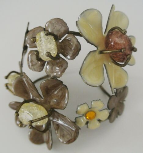 Multicolor Floral Bangle - image 1