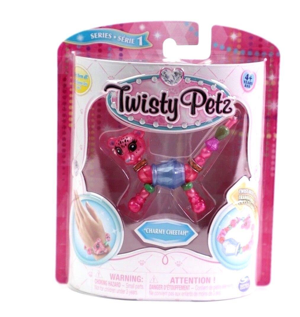 Twisty Petz Pets CHARMY CHEETAH Transform Pet to Bracelet Ships FREE-Ships FAST