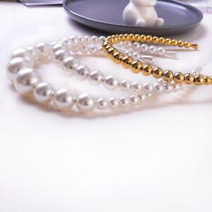 Women-Girls-Elegant-Big-Pearl-Headband-Hairband-Hair-Hoop-Wedding-Accessories
