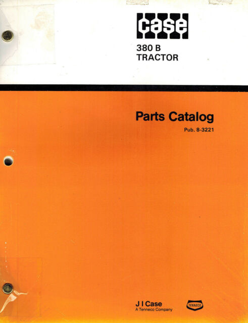 Case 480c Construction King Loader Backhoe Parts Manual C1295