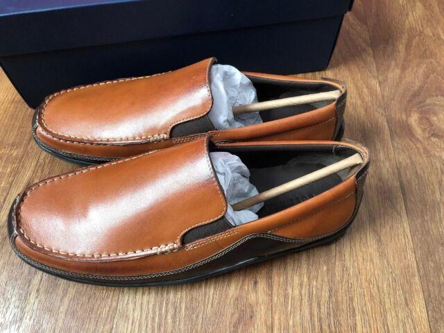 2ee6a25b7f0 Cole Haan Men 10.5 M Tucker Venetian Slip On Loafers Tan Brown Leather  C03559