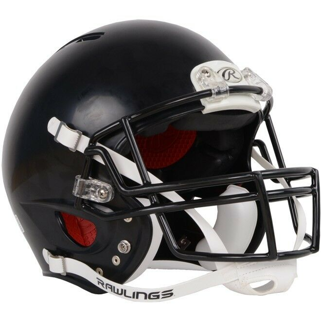 Rawlings NRG Adult Force Football Helmet Gray Without Face Mask