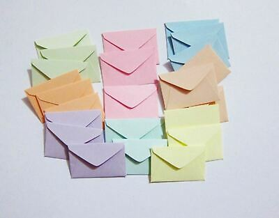 wedding favor lunchbox notes 20 Mini envelopes tiny envelopes random patterns cute envies 1-12 x 2  tooth fairy elf mail seed packet,