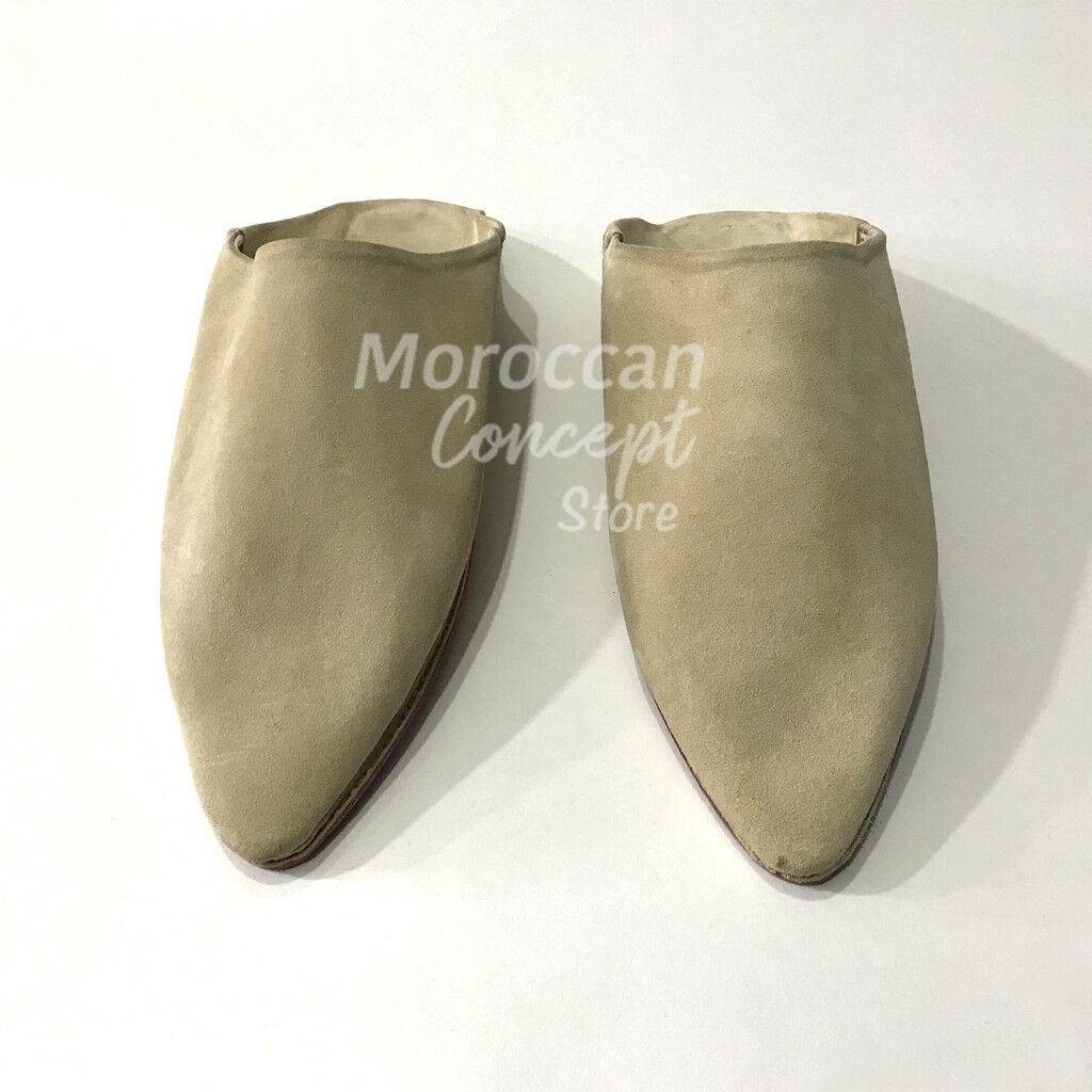 Moroccan Leather Babouche Slippers - Suede - Unisex Unisex Unisex High Quality 1ef2f4