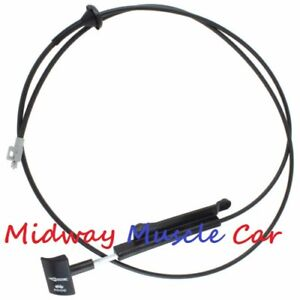 Ford Mustang Hood Release Cable and Pull Handle Assembly F4ZZ16916A 1994-2002