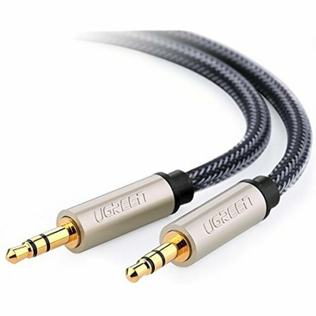 Plug Audio Accessories Extension Cord Audio Cable Nylon Aux Cord Auxiliary Cord