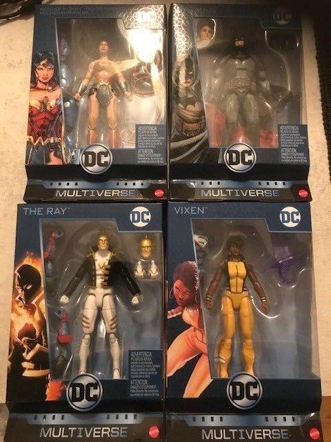 DC Multiverse Wave 9-Conjunto de 4 clic y conectar Lex Luthor (Renacimiento)