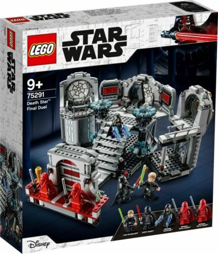 Seltenes Set LEGO® Star Wars 75291 Todesstern##Letztes Duell
