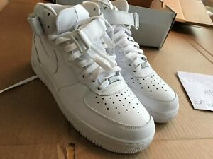 pretty nice 27d8b 2fc9f Details about 2007 New in Box Air Force One Mid XXV White size 11.5 ONES  25th Limited Edition