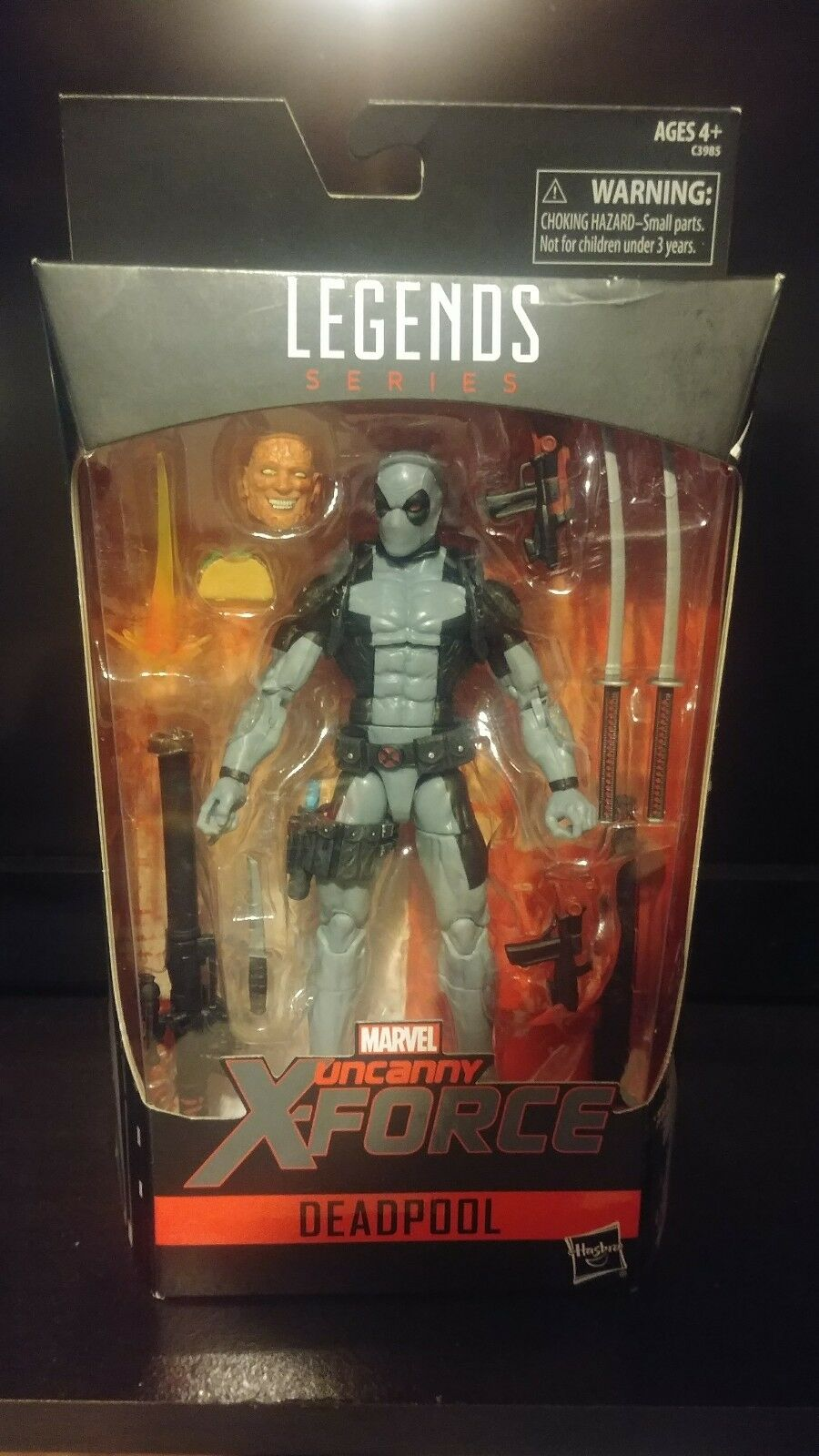 Nuovo Marvel Legends Hascon Exclusive X-Force Deadpool  6  SOLD OUT   più sconto