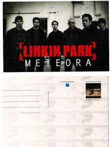 LINKIN-PARK-promo-METEORA-italian-10-x-15-cm-postcard-Metal-Crossover