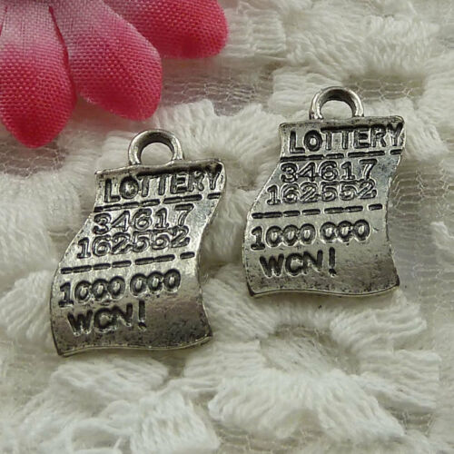Free Ship 50 pieces Antique silver cute charms 19x12mm #956