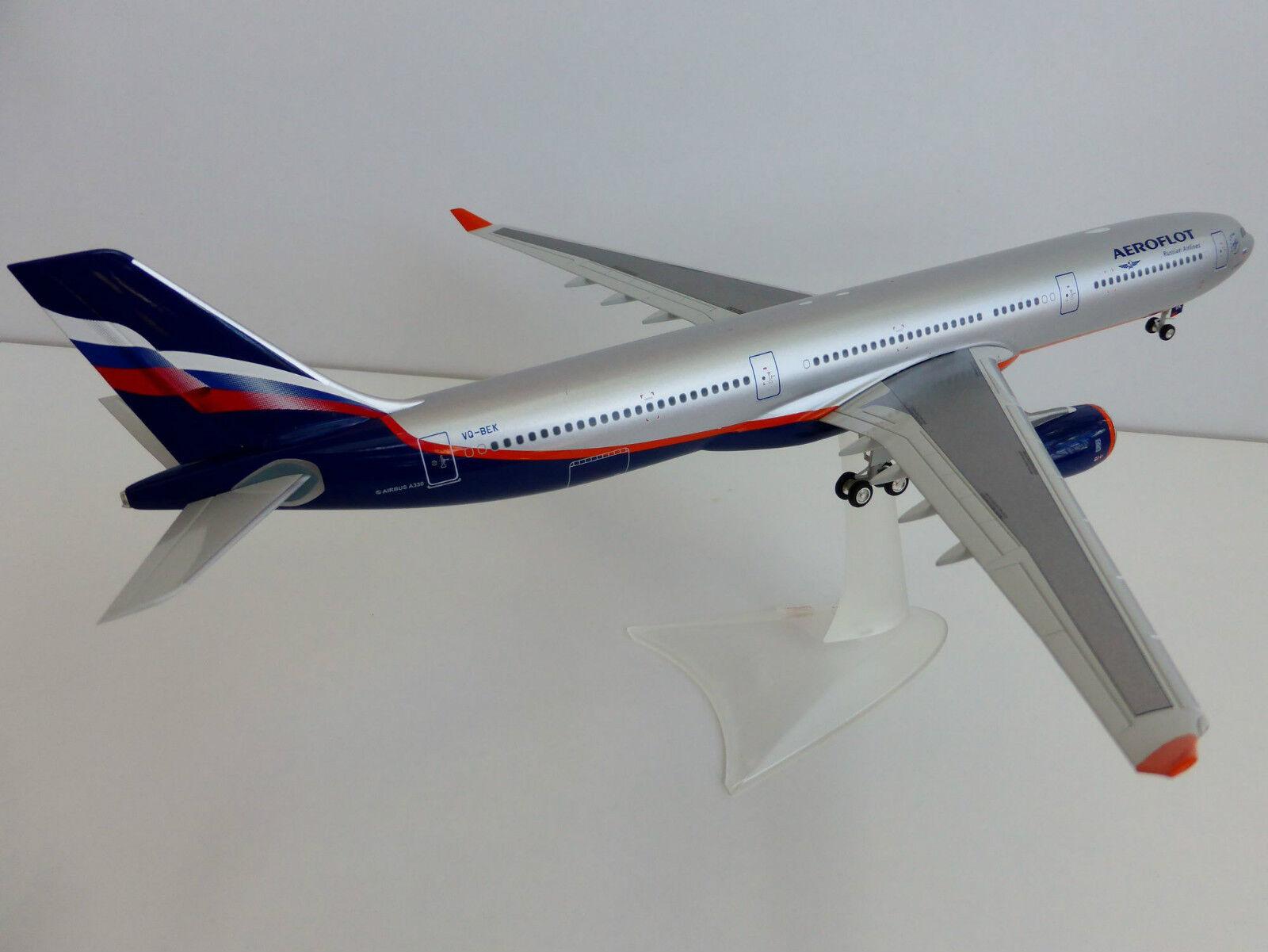 Aeroflot Airbus A330-300 1 200 Herpa A330 a 330 555609 Vq-Bek Russian