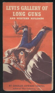 """1950S LEVI'S JEANS ADVERTISING BOOKLET, """"GALLERY OF LONG GUNS"""" LEVI STRAUSS & CO"""