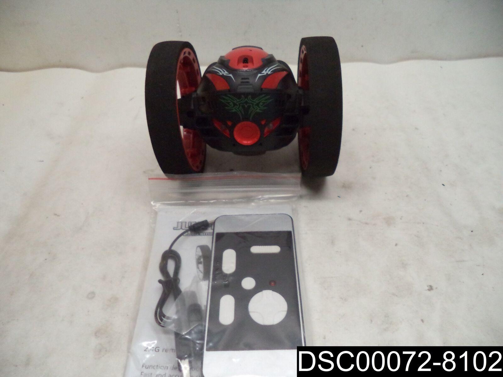 Kidshome PEG - 88 2.4GHz Remote Control Bounce Car w/80W Camera 360 Degree, rosso