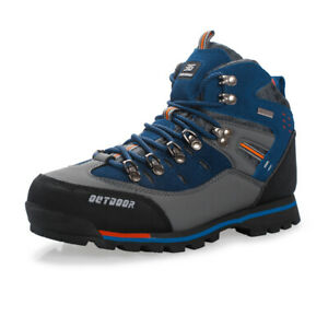 Mens-Waterproof-Trail-Hiking-Trekking-Shoes-Wearable-Non-Slip-Outdoor-Boots