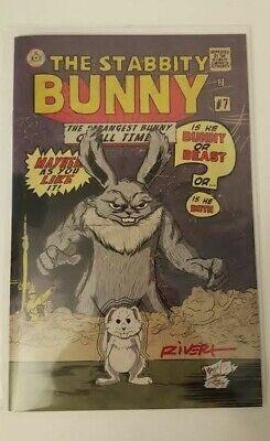 Stabbity Bunny #7 Incredible Hulk #1 Homage