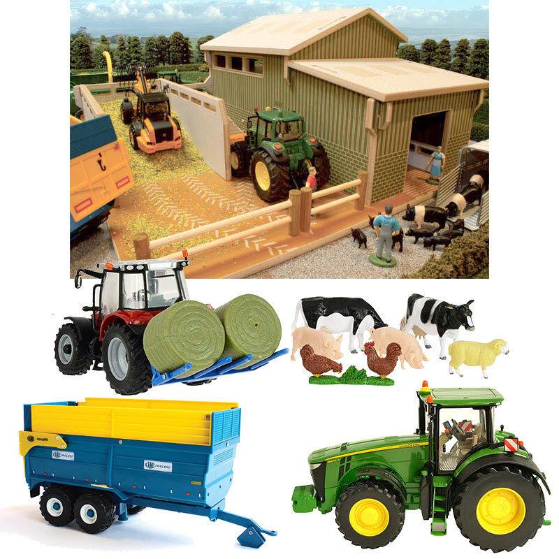 De brindilles & BRITAINS mon deuxième ferme Bundle - 1 32 FARM TOYS BT8855