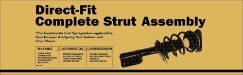 2 DTA Front Complete Struts With Springs Fit Honda Element Lifetime Warranty