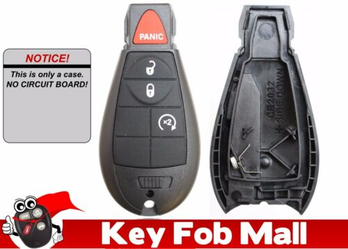 NEW Keyless Entry Key Fob Remote CASE ONLY 4 BUTTON For 2012 Dodge Grand Caravan