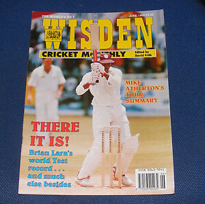 WISDEN-CRICKET-MONTHLY-JUNE-1994-THERE-IT-IS-BRIAN-LARA-039-S-WORLD-TEST-RECORD