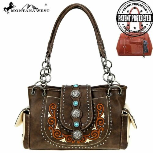 New Montana West Concho Collection Concealed Carry Satchel in Different Colors