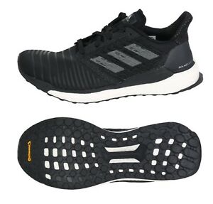Ananiver Llevando engranaje  Adidas Men Solar Boost Shoes Running Black White Sneakers Boot GYM Shoe  CQ3171 | eBay