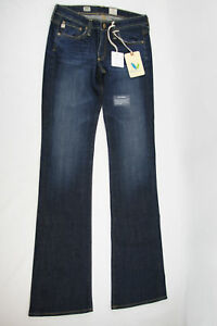 "AG Adriano Goldschmied /""The Belle/"" Slim Flare Dark Blue Jeans 4 Years Aged"