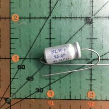 Cornell Dubilier Electrolytic Capacitor 100uF 16v NLW100-16 105/'C CDE 2pcs